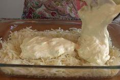 recept na domáci zemiakový nákyp s kuracím mäsom