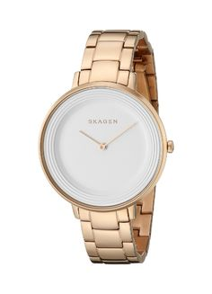 Amazon.com: Skagen Women's SKW2331 Analog Display Analog Quartz Rose Gold Watch: Skagen: Watches