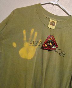 NOS 80s Hypercolor T Shirt by Generra Color Changing Original