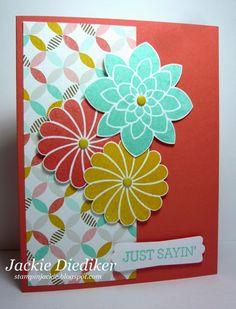 Stampin Jackie: Pals Paper Arts Challenge - Sketch Challenge!