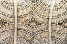 King's College Chapel vaulting, Cambridge, Cambridgeshire, England