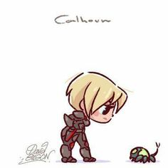 Chibi Calhoun- Wreck-It-Ralph, 2012 Disney Pixar, Disney Fan Art, Disney Animation, Disney Amor, Disney E Dreamworks, Disney Cartoons, Disney Characters, Kawaii Disney, Chibi Disney