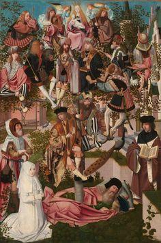 Geertgen tot Sint Jans (circle of) - The Tree of Jesse (1500) : museum
