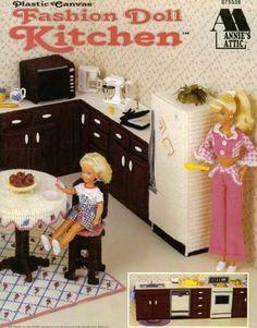 Fashion Doll Kitchen 1