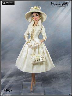 Tenue Outfit Accessoires Pour Fashion Royalty Barbie Silkstone Vintage 1079 | eBay