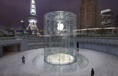 Apple Store in Shanghai China #architecture #architectural #exterior