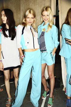 Tommy Hilfiger SS14 Fashion Show New York Backstage | Sonny Vandevelde