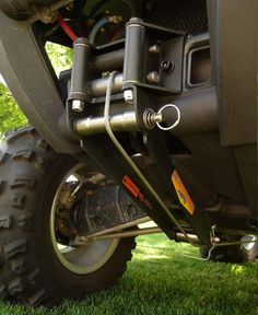 Reversaroller allows you to winch backwards with a front mounted winch.