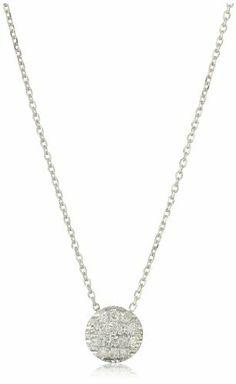 "Dana Rebecca Designs ""Lauren Joy Mini"" 14k White Gold Diamond Necklace Dana Rebecca Designs, http://www.amazon.com/dp/B006KZP2E8/ref=cm_sw_r_pi_dp_Lefcrb18JPYT5"