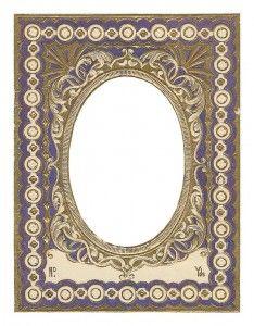 Frame Vintage Frames, Vintage Prints, Vintage Decor, How To Draw Painting, Cardboard Picture Frames, Wine Label Art, Decoupage, Printable Frames, Vintage Borders