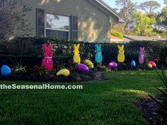 A PATCH 'o PEEPS create an Easter Garden