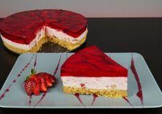 Γλυκό ψυγείου φράουλας χωρίς προσθήκη ζάχαρης Healthy Desserts, Easy Desserts, Dessert Recipes, Greek Recipes, Smell Good, Food Videos, Nutella, Tiramisu, Cheesecake