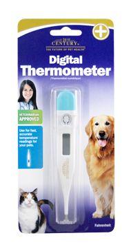 Digital Thermometer (Fahrenheit)- 21st Century Pet Health $14.99 http://www.21stcenturypet.com/product-dog.asp?i=1073=10