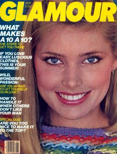 May 1980 cover with Kelly Emberg