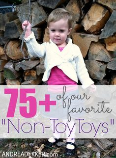 """of Our Favorite """"Non-Toy Toys"""" - Simple Organized Living Home Activities, Toddler Activities, 4 Kids, Children, Toy Toy, Toy Organization, Toy Craft, Play Ideas, Fun Learning"""