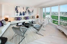 Ultra-Modern Apartment & Private Art Gallery Overlooking Central Park
