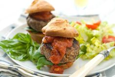 Post image for Gluten Free Italian Meatball Sliders Recipe
