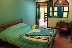 hot springs lodge standard room   - Costa Rica
