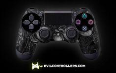 PS4Controller-BlackNightmare | Flickr - custom ps4 controller - custom dual shock 4 controller
