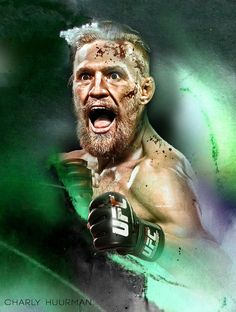 awesome artwork of savage warrior Conor McGregor : if you love #MMA, you'll love the #UFC & #MixedMartialArts inspired fashion at CageCult: http://cagecult.com/mma