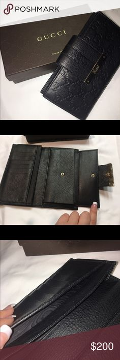 Gucci Wallet great condition, black, Gucci Wallet, authentic Gucci Bags Wallets