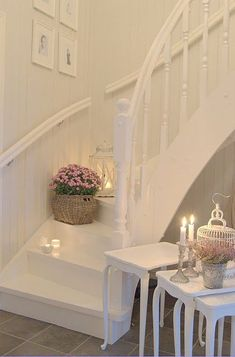OH MY GOSH! I LOVE THESE STAIRS!!! These would never be practical... I hope heaven has them!!!