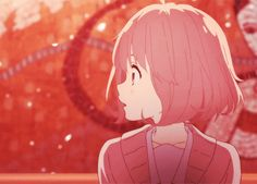 Kyoukai No Kanata / Beyond The Boundry  http://mayu-lady.tumblr.com/post/103946296976