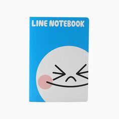 LINE FRIENDS Character MOON Notebook Large Official Goods #LINEFRIENDS