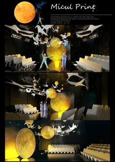 """""""Scenography Project Maitreyi Little Prince"""" by Laurentiu Stanciu  http://www.forum.cgramp.com/showthread.php?993-Scenography-Project-Maitreyi-Little-Prince=2999#post2999"""