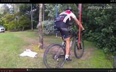 How to Mountain Bike Better with 5 simple backyard drills for awesome mountain biking skills. Be amazed at how these skills advance your mountain biking te