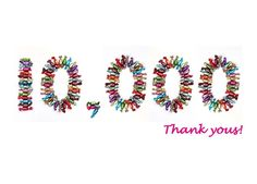 We reached 10,000 likes. Thank you!