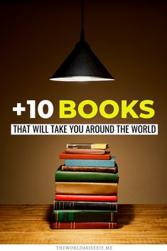 Books that Inspire Travel Around the World. Looking for something to read? Here are over 13 travel books that range from memoirs to fiction and all have a destination as a leading character. I books to read I travel reads I travel related books I books inspire travel I travel inspiring books I what to read I travel memoirs I #books #travelbooks #armchairtravel