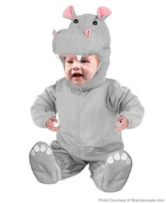 He'll be a happy, happy hippo in this #Halloween costume!