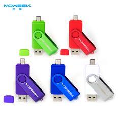 Aliexpress.com: Comprar MOWEEK M32 OTG USB stick 4/8/16/32/64 GB usb flash drive usb 2.0 teléfono del regalo Pen Drive USB Memory Stick de regalos para los 6 años de edad fiable proveedores en moweek offical Store