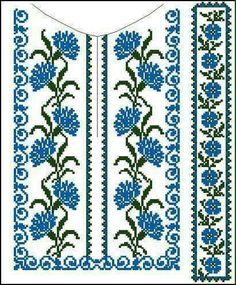 Biscornu Cross Stitch, Cross Stitch Bookmarks, Cross Stitch Borders, Cross Stitch Flowers, Cross Stitch Designs, Cross Stitching, Cross Stitch Embroidery, Embroidery Patterns, Hand Embroidery