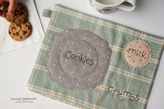 milk & cookie mat by nanaCompany, via Flickr