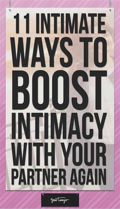 If you want to feel TRULY connected to your partner, read on forsome intimacy-boosting tips that can make all the difference.