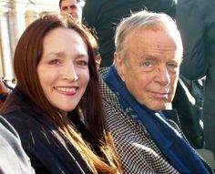 Olivia Hussey and Franco Zeffirelli
