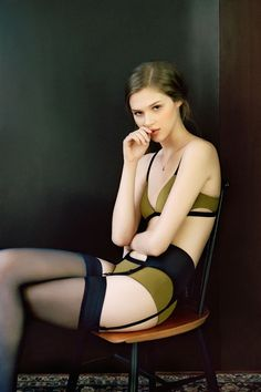 Image result for sexy woman in underbust corset, thigh highs and robe