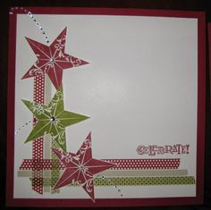 "Stamp & Scrap with Frenchie: Scrapbook Class ""Star"""