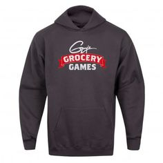 Keep warm this winter with the Guy's Grocery Games Hoodie, available at the Food Network Store