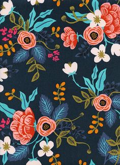 Rifle Paper Co. Birch Floral Rayon- Navy 2019 Rifle Paper Co. Birch Floral Rayon- Navy The post Rifle Paper Co. Birch Floral Rayon- Navy 2019 appeared first on Fabric Diy. Motif Floral, Floral Fabric, Floral Prints, Navy Fabric, Lino Prints, Block Prints, Fabric Patterns, Flower Patterns, Rifle Paper Company