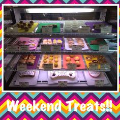 The long weekend is finally here and our cases are STOCKED! Stop in to spoil your dog with some of our pawsome treats!