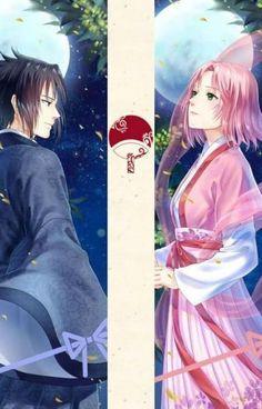 Sasuke & Sakura :3