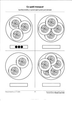 Pracovní listy - Rosničanda - MŠ Pardubice-Rosice/L Leaf Crafts, Montessori, Worksheets, Preschool, Education, Masky, Mask Template, Wood Working, Kindergarten