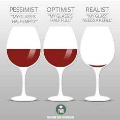 I'm a realist!!! :)