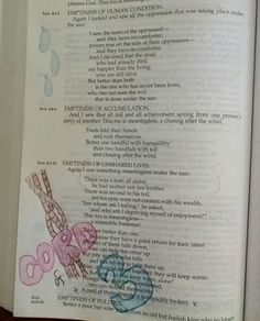 Bible Journal Ecclesiastes Scripture Verses Art Bullet Journaling Diary Bullets Gcse