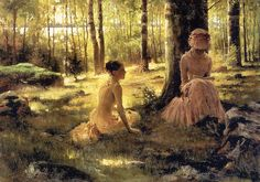 Shop for ''Under the Birches'' by Albert Edelfelt Fairfield Art Publishing Art Print x 24 in. Get free delivery On EVERYTHING* Overstock - Your Online Art Gallery Store! Helene Schjerfbeck, Kunst Poster, Woman Reading, Art Studies, Vincent Van Gogh, Beautiful Paintings, Watercolor Art, Fine Art Prints, Poster Prints