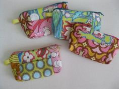 Quick and Easy Change Purse / Wallet Sewing ePattern - by Candy Corner Quilting