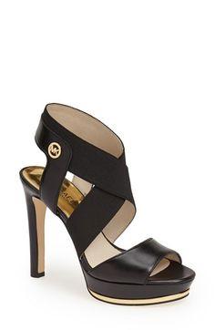 c431cd49f1f Michael Kors Meadow Platform Sandal Cheap Shoes